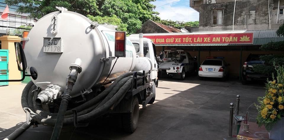 Dịch vụ hút hầm cầu tại Hà Tĩnh
